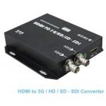 HDMI to SDI Converter Adapter HDMI to 3G-SDI HD-SDI SD-SDI 1080p60 with Audio