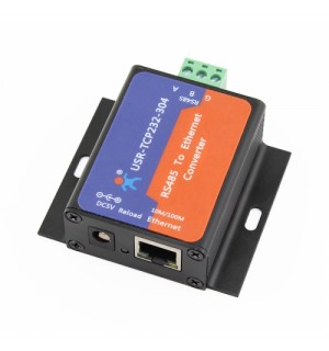 Serial RS485 to Ethernet Server with Built-in Webpage