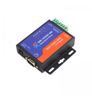Serial Device Server RS232 RS485 RS422 to Ethernet Converter