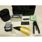 Fiber Optic Tool Kit TK24 FTTH  FC-6S Fiber Cleaver CFS-2 Stripper with Bag